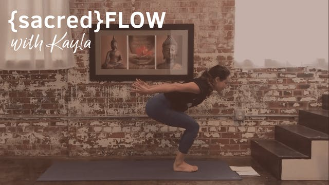 {sacred}flow with Kayla, 45 Minutes