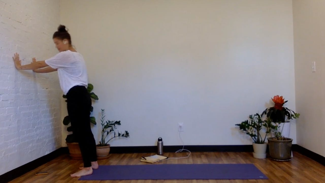Yin with Malerie (Shoulders on the Wall - 60 Mins)