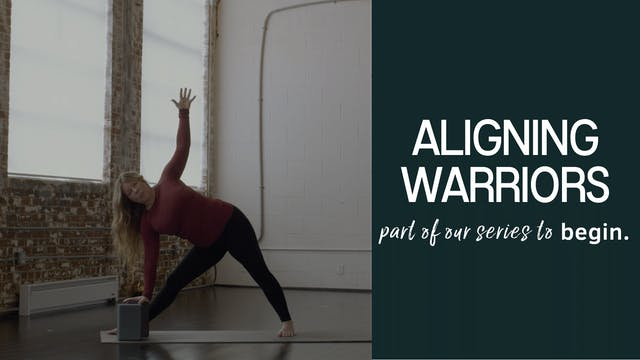 Aligning Warriors for Power & Stability