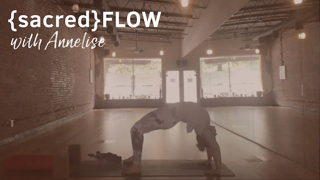 {sacred}Flow All Levels with Annelise, 50 Minutes