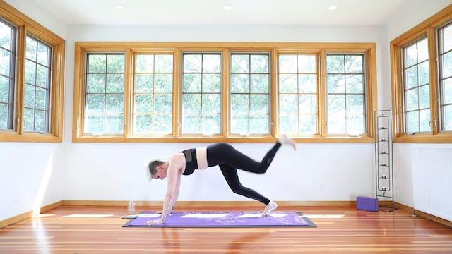 Yoga Shred®: Triple Threat Plank