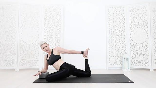 RY Y Triple Pigeon Hip Balancing Yoga...
