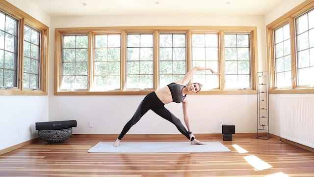 Cool Down Stretch & Restore Sequence for Cardio Cooling