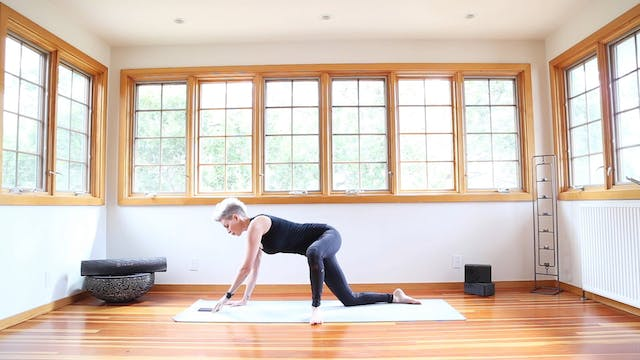 Yoga Shred®: Knee Down (Beginner) Sid...