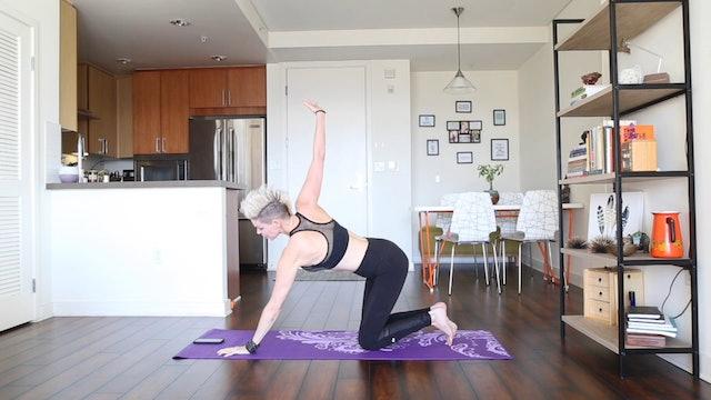 20 Minute Yoga Shred® The Arm & Core Strength Transformer!