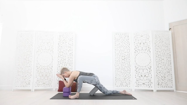 RY Y Total Restore Stress Release Yoga Session 30 Mins