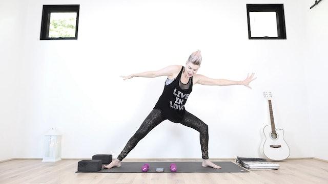 YS Yoga Shred® For Cardio Tone + Instant Fierceness!