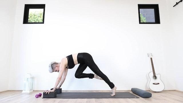 Y Weighted Warrior Yoga Flow
