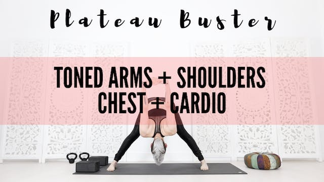 Toned Arms + Shoulders + Chest + Cardio 31 Mins