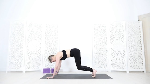35 Min Prenatal Core Strength + Hip Opening Yoga Flow