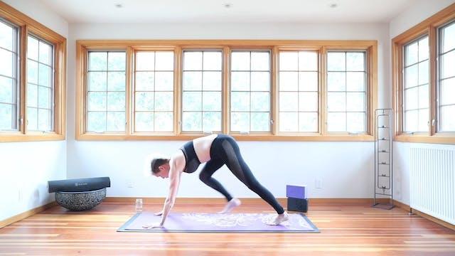 TBT30 Core Strength Vinyasa Yoga™ Flow: Fat Burner + Cardio Intro