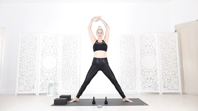 YS 22 Min Down & Dirty Yoga Shred® for Cardio Core & Glutes