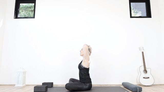 Quick Spinal Reset With Yoga Blocks