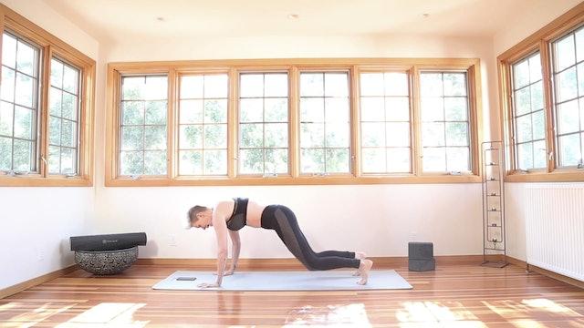 Yoga Shred®: Double Hop Burpees