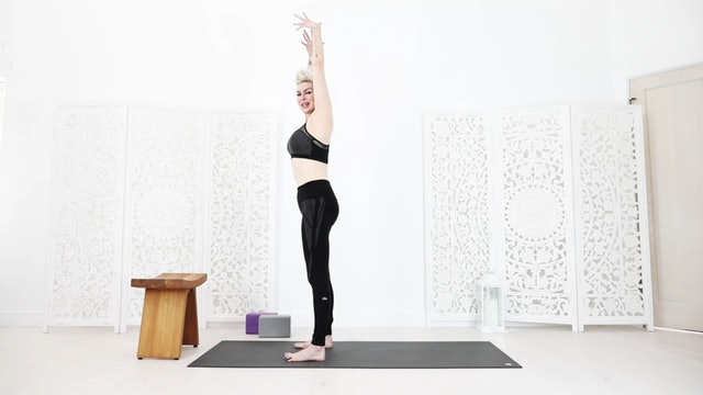 "Beginner ""Warrior"" Yoga Flow For Strength And Stability"