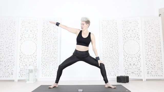 MUSIC YOGA FLOW ( to my own song!) FOR INSTANT EMPOWERMENT & CARDIO CORE 🔥