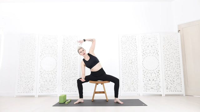 (CY) Chair Yoga Session 5: Stronger Glutes & Low Back