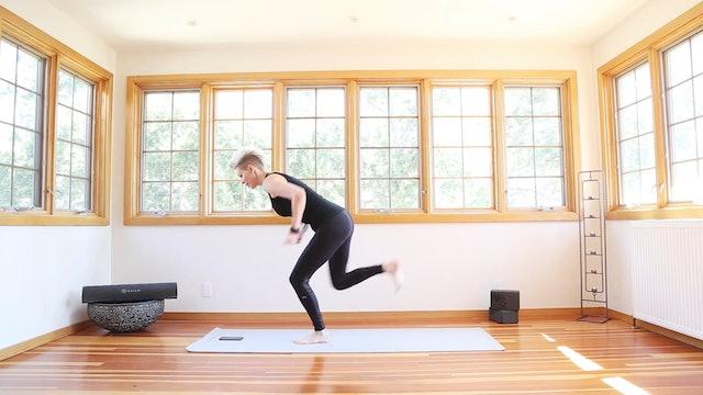 Yoga Shred®: Chair Kick Backs