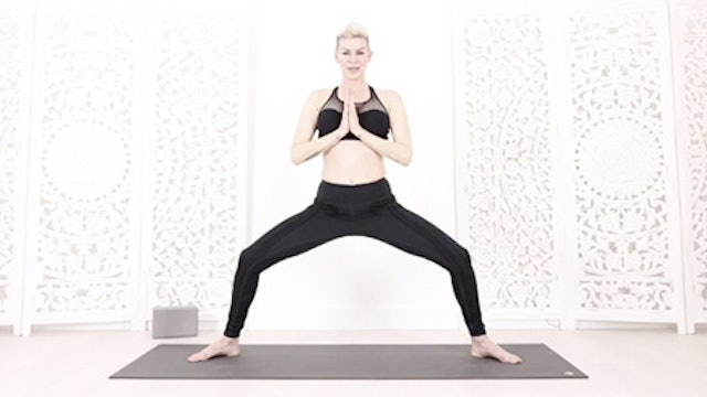 Y  Super Sun Salutation Heart Open Core Strength Flow
