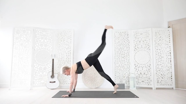 A Yoga Shred® Move for Awesome Arms, Booty, and Core!