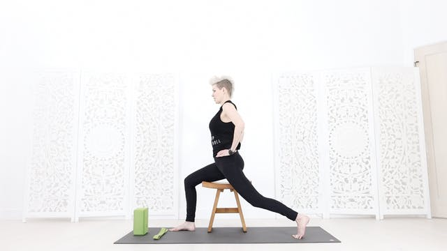 Chair Yoga Session 1: Grounding + Foo...