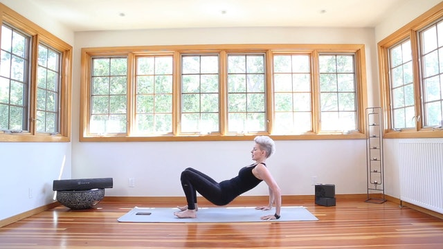 Yoga Shred®: Tabletop & Reverse Tabletop Pushups