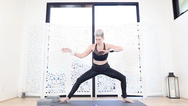 2020 DAY 6: 🌊The Ninja Flow Yoga Shred®  🌊 Workout!