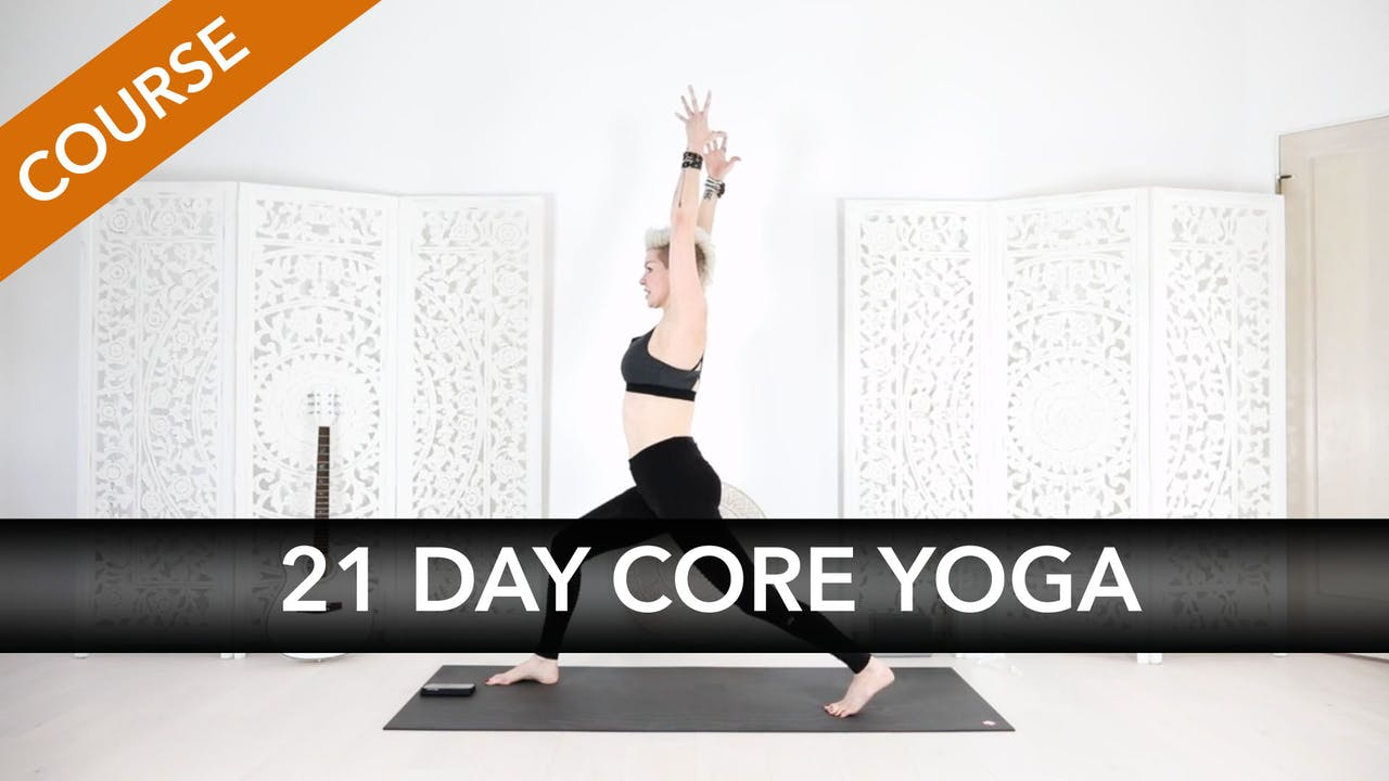 21 Day Core Strength Transformer Yoga