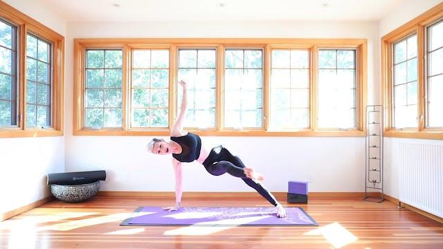TBT30 Core Strength Vinyasa Yoga™ Flow: Detox & Cleanse Intro