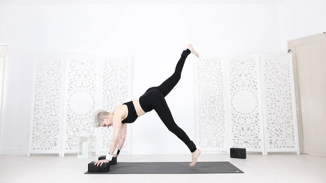 YS  Quick Yoga Shred® Class for: Whole Body + Arms, Glutes & Cardio! (20 Mins)