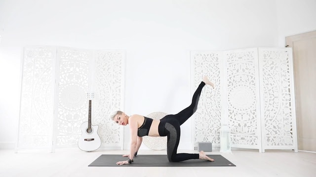 A Yoga Shred® Move for Awesome Arms &Booty!