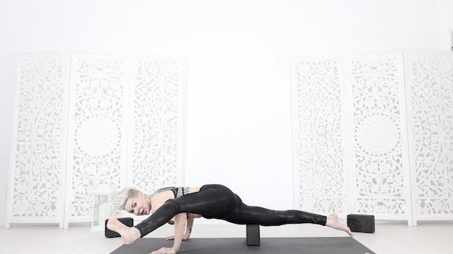 Eka Pada Koundinyasana (Arm Balance Prep & Mastery + Core Strength) Flow