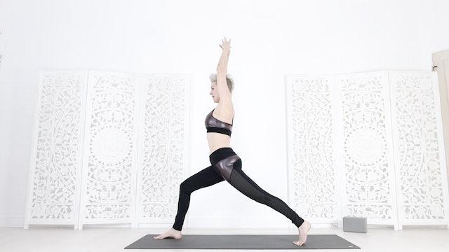 Asana Kicking 🔥Metabolism Turbobooster Yoga Shred!