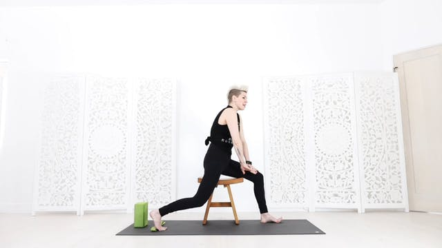 Chair Yoga Session 6: Hip Opening + Strength Balancing