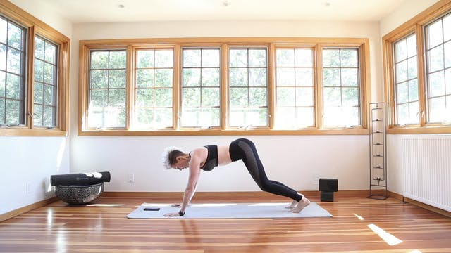 Yoga Shred®: Plank Swings