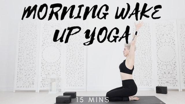 Y Morning Wake Up Yoga Flow 15 Mins