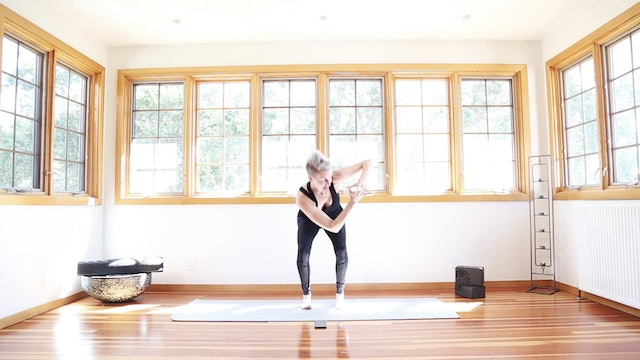 Yoga Shred®: Chair Twists Of Fire