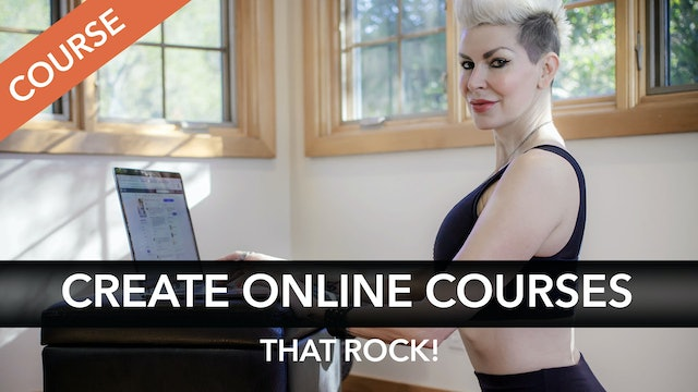 Create Online Courses that Rock!