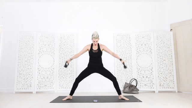 Kettlebell Yoga Shred® for Arms and Abs + A Purse!