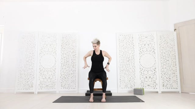 Y RY Airplane and Travel Yoga Stretch!