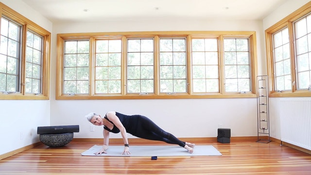 Yoga Shred®: Forearm Side Plank Lifts