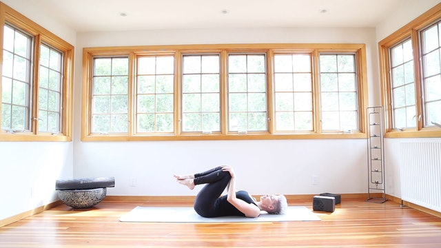 5 Minute Cool Down Stretch For Core + Spine