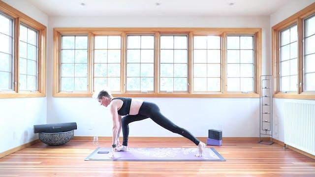 TBT30 Yoga Shred™ Fat Burner Practice