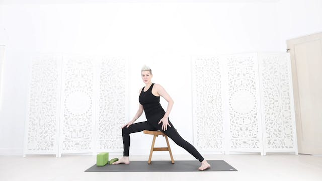 Chair Yoga Session 7:  Arm, Neck & Shoulder Strength + Stretch