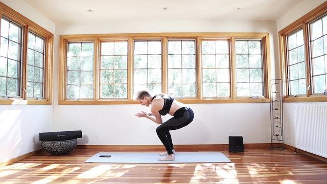 Yoga Shred®: Fierce Chair Twist Turboboosts