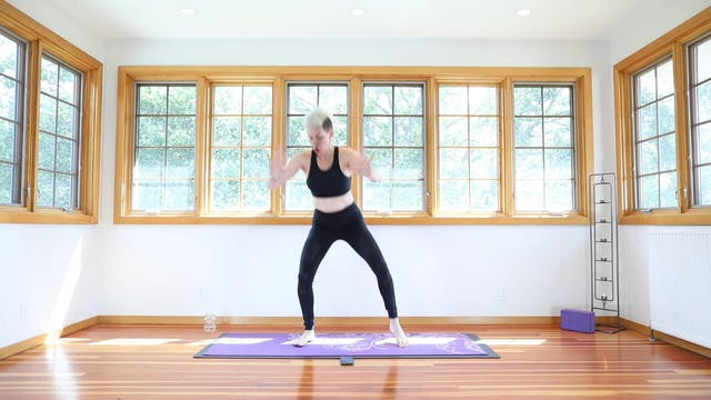 Yoga Shred®: Squat Flys