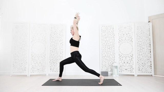 Core Sun Salutation Yoga Warm Up