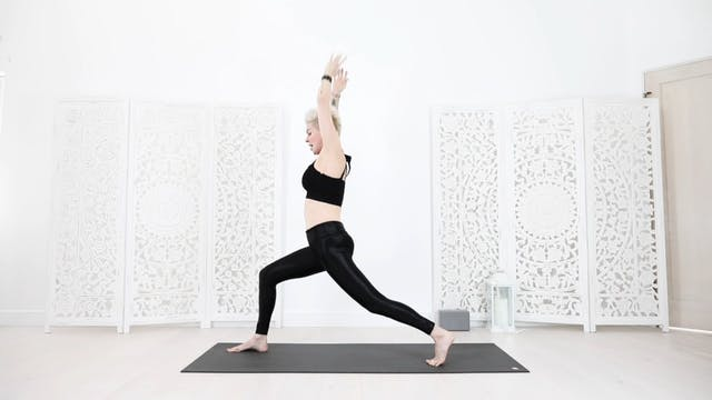 Core Sun Salutation Yoga Warm Up