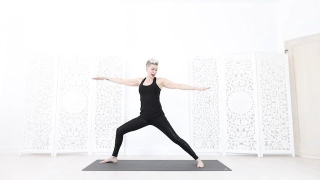 Arm Bind For Freedom Yoga Flow Interm...