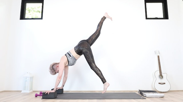 YS Triple Glutes Yoga Shred® Flow (Weights Optional)